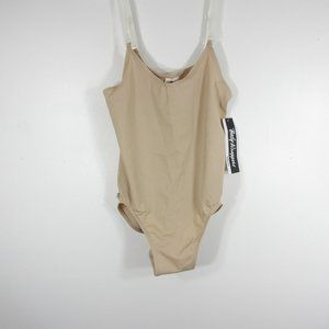 NWT Body Wrappers Nude Camisole Leotard